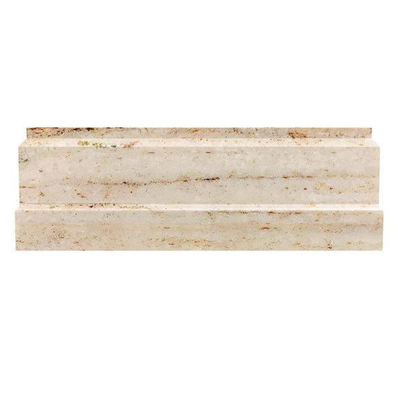 Desert Sand Marble Nova Baseboard Polished | Tile Club | Position1