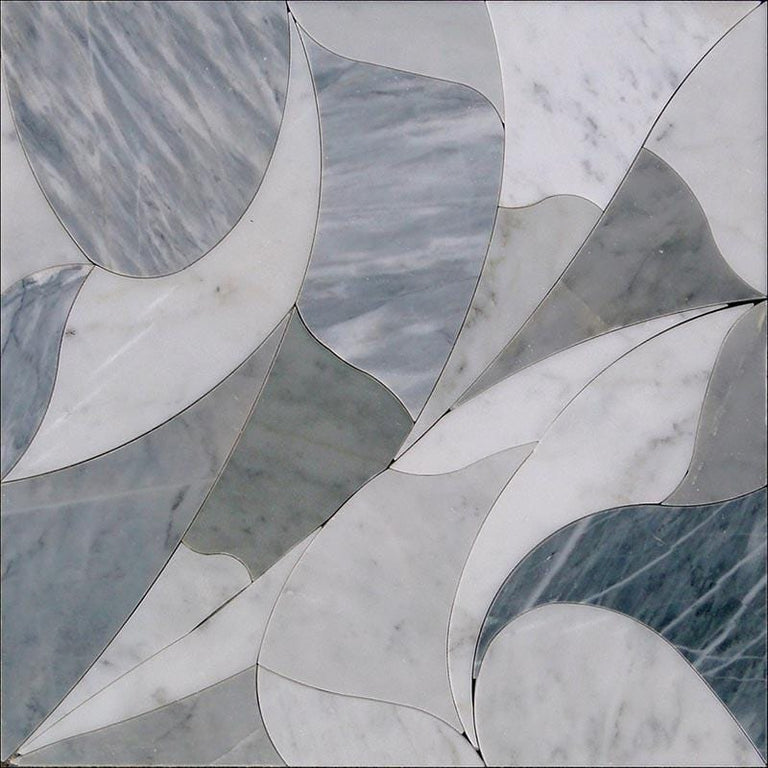water jet marble tile