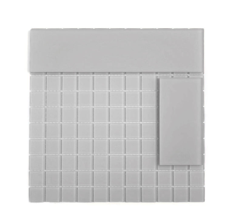 Glacier Beach Frosted Glass Tile |Tile Club