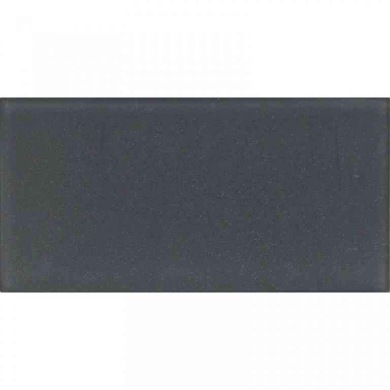 dark grey frosted glass tile
