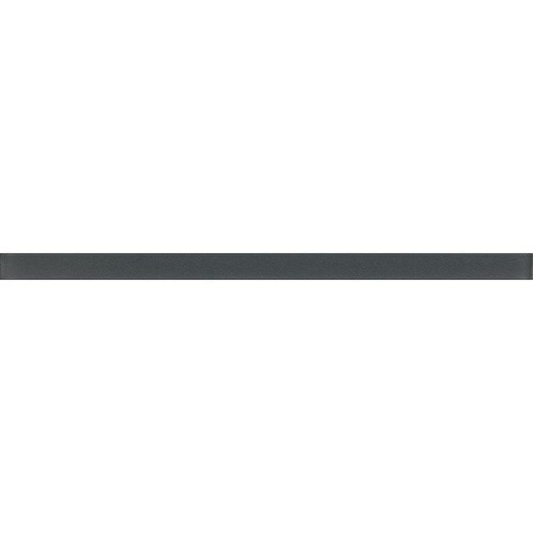 Glacier Dark Gray Frosted Glass Pencil Liner | Tile Club | Position1