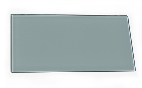 Glacier Gray 8X16 Polished Glass Tile Position: 1