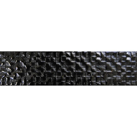 laguna black glass tile