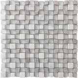 Lavana Wooden Beige & White Mosaic Tile | Tile Club | Position1