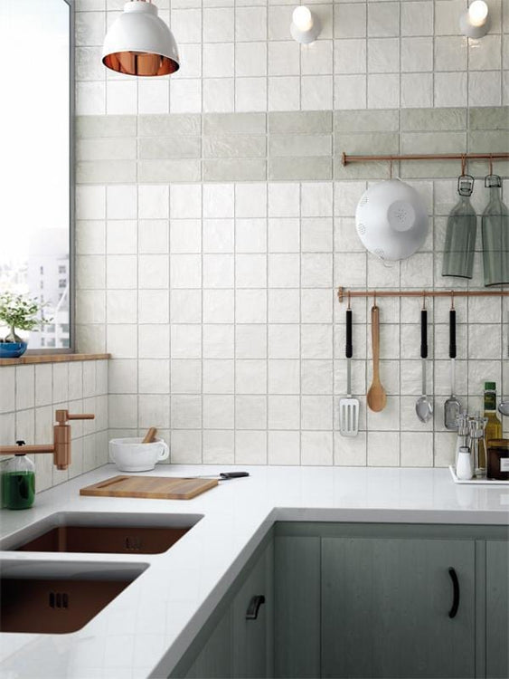 4x4 white ceramic tile
