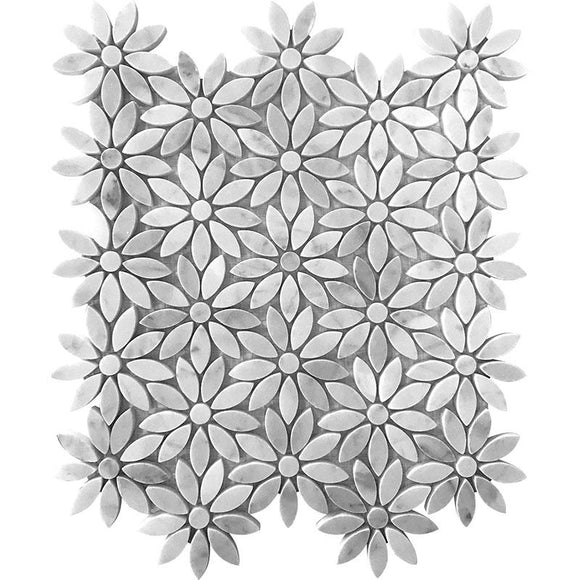 flower pattern tile