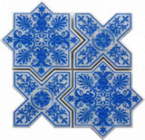 etched mosaic tile