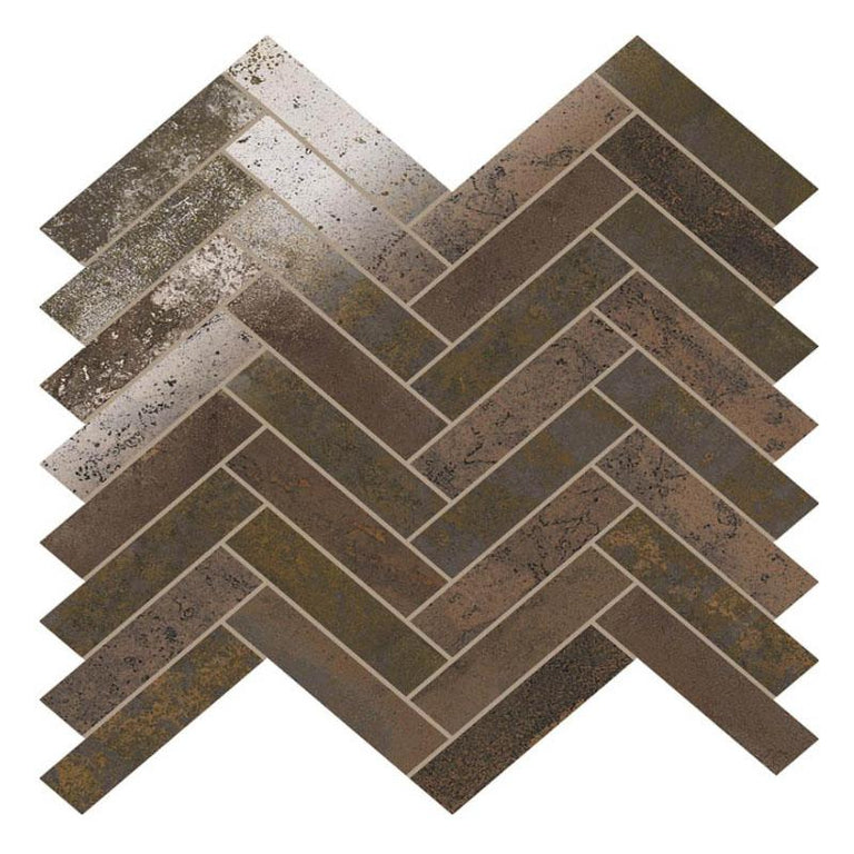 porcelain herringbone tile