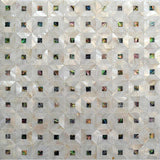 "12.1"" x 12.1"" Mother Of Pearl Abalone Mosaic Tile 
