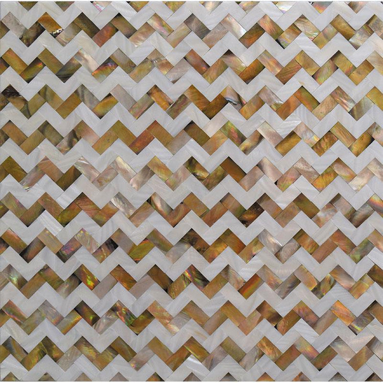 Mother Of Pearl Divine Herringbone Mosaic Tile | Tile Club | Position1