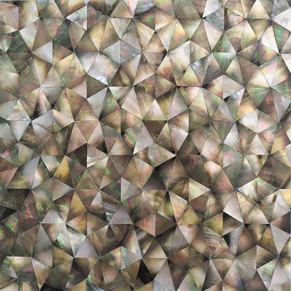Mother Of Pearl Wild Triangle Mosaic Tile | Tile Club | Position1