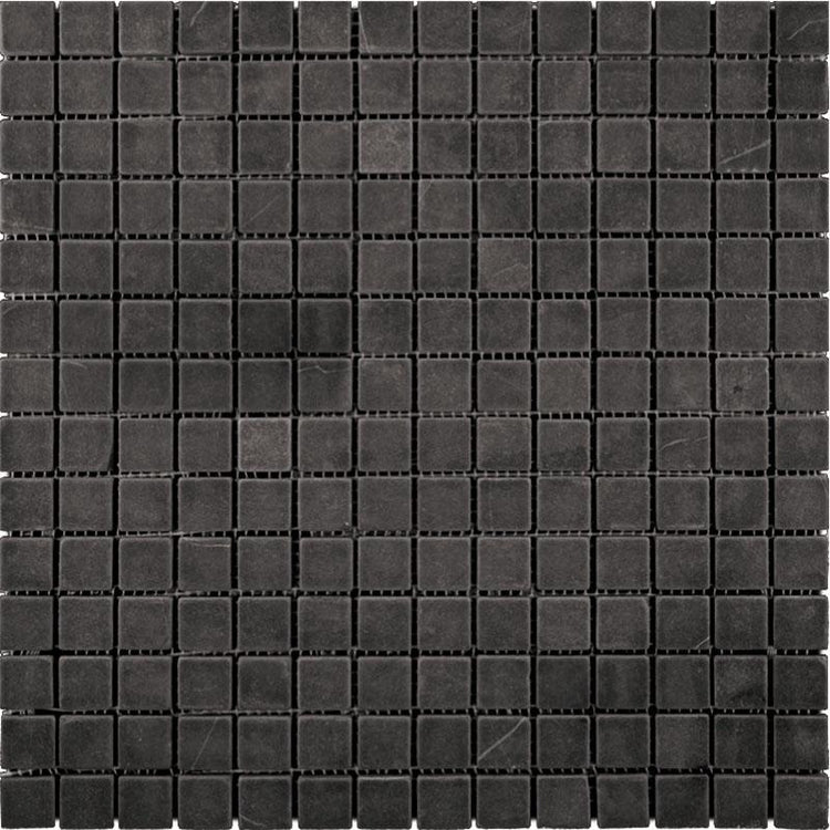 Nero Marquina 1X1 Honed Marble Mosaic Tiles | Tile Club | Position1