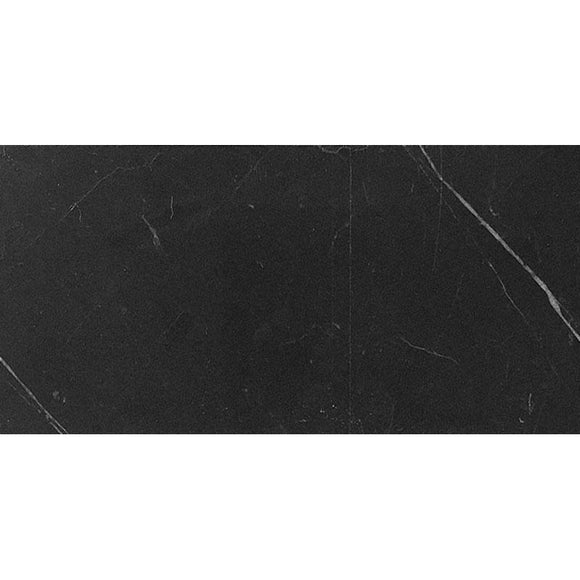 honed black marble tile