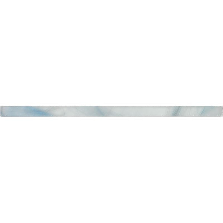 "<span>0.6"" x 12</span>"" Ocean Glass Blue Pencil Molding 