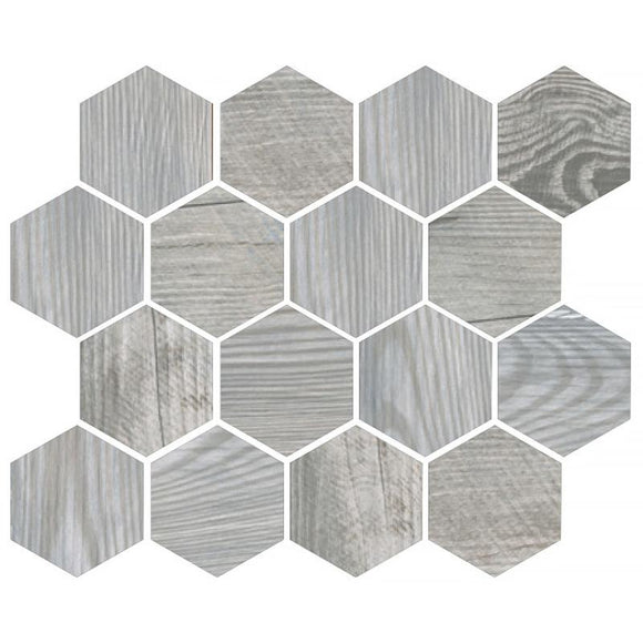 Tile Club | PAINTED WOOD HE Honed Gray Porcelain Tile position: 1