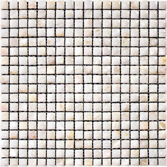 Small Pillow Mother Of Pearl Mosaic Tile | Tile Club | 12