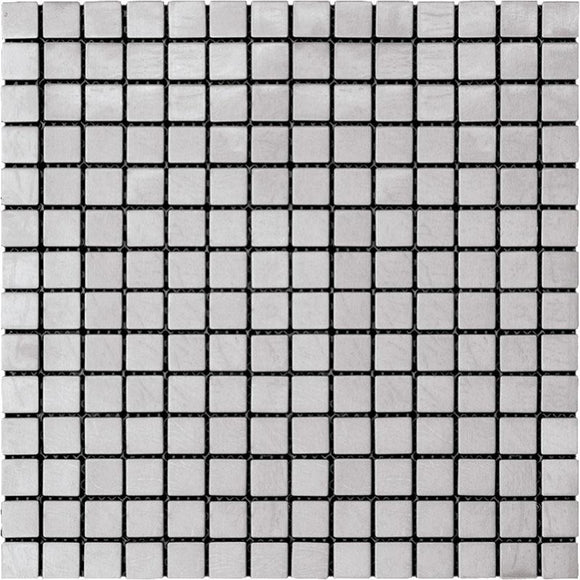 Stainless 1X1 Square Metal Mosaic Tile | Tile Club | Position1