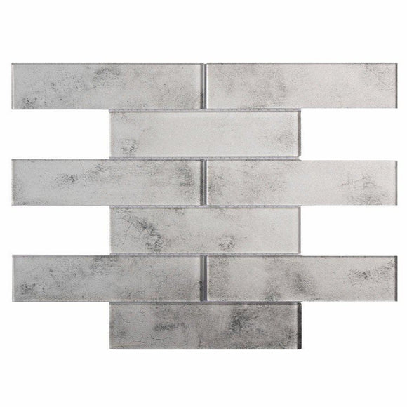Stardust Mineral 2X8 Glass Mosaic Tile Position: 1
