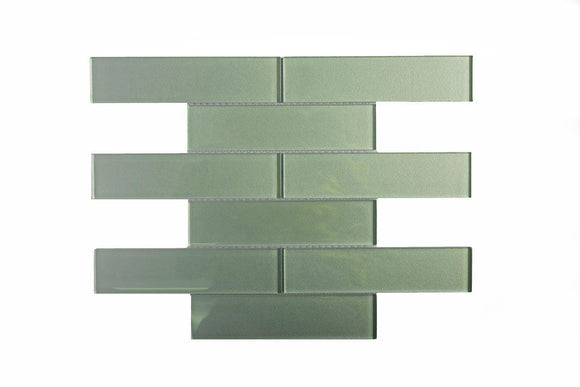 Stardust Stream 2X8 Glass Mosaic Tile Position: 1