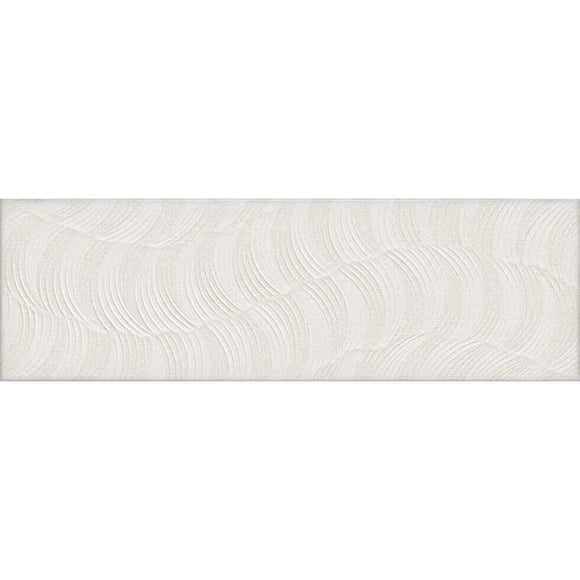 TileClub TEX IVORY ATOMIC  Polished  White  Porcelain  Tile position: 1