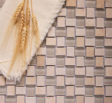 textured mosaic tile