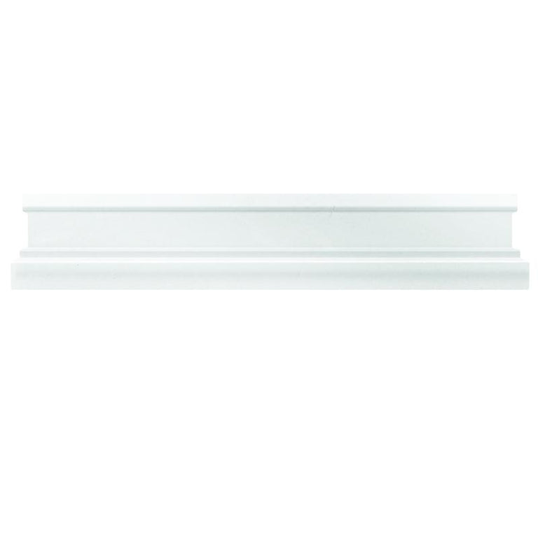Thassos White Marble Nova Chair Rail Polished | Tile Club | Position1