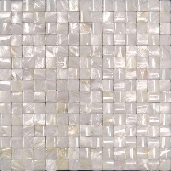 Tight Joints Pilllow Mother Of Pearl Mosaic Tile | Tile Club | Position1