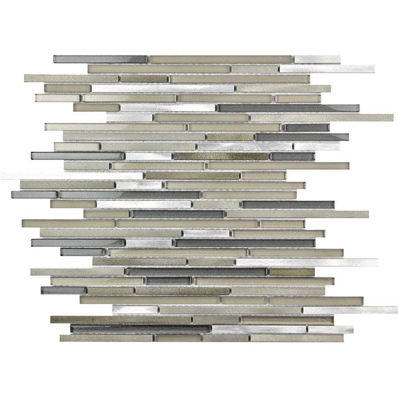 waterfall metal tile