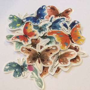 Rice Paper Butterfly Sticker