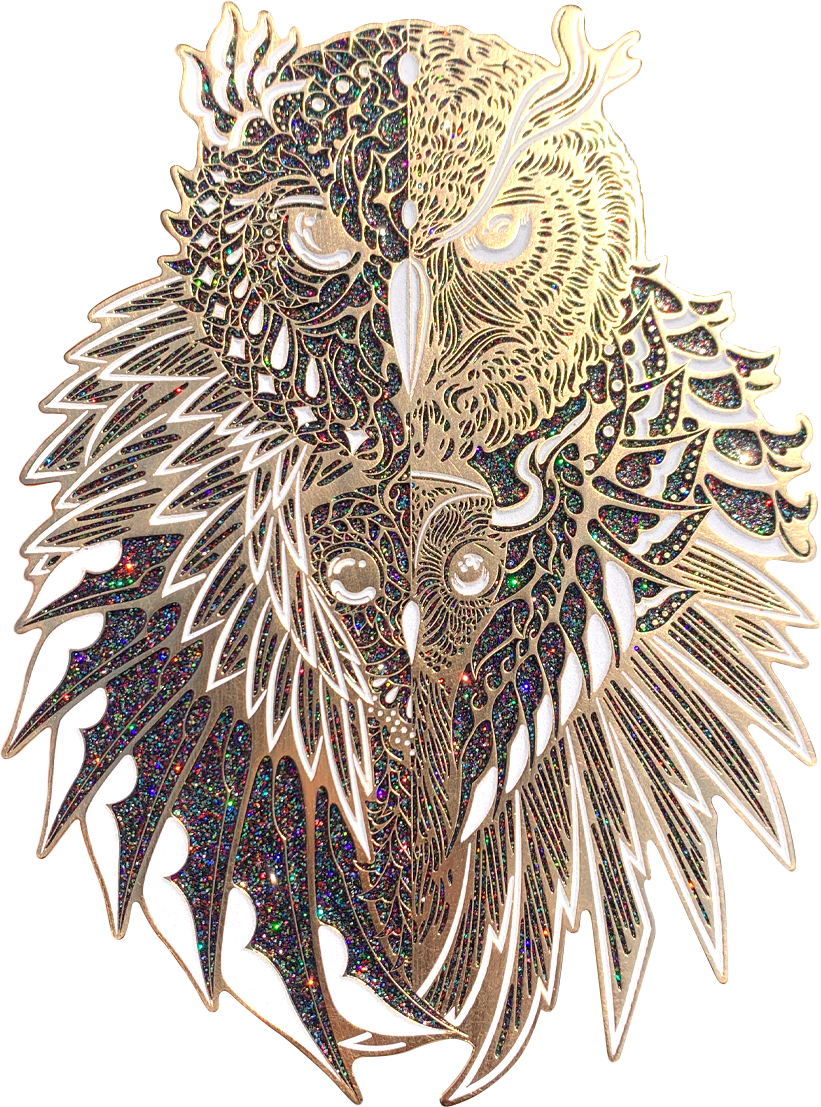Galaxy Guardian Owl (Edition of 50)