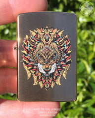 King of the Jungle Zippo Lighter (Edition of 50)