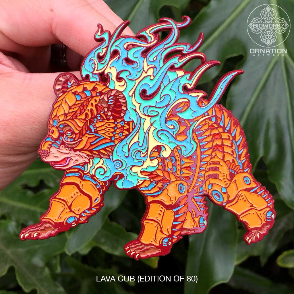 Lava Cub Pin (Edition of 80)