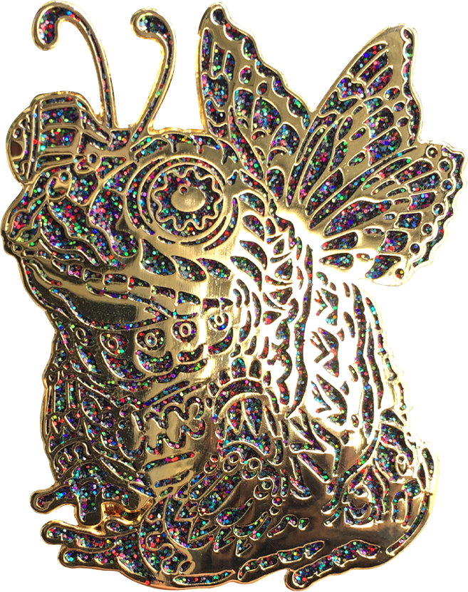 Onyx Fairy Toad Pin (Edition of 10)