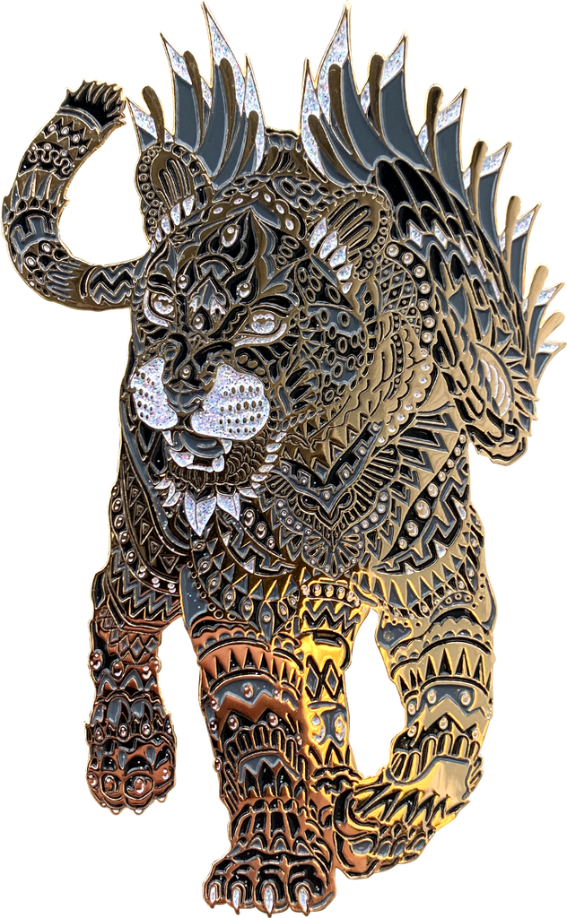 Midnight Jaguar Pin (Edition of 35)
