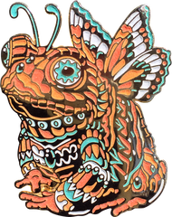 Amber Fairy Toad Pin (Edition of 20)
