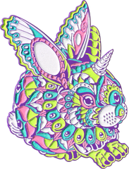 Mardi Gras Bunny Pin (Edition of 20)