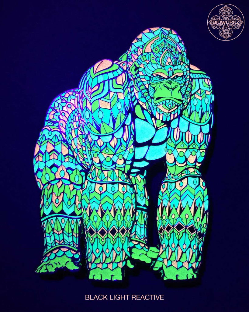 Neon Gorilla Pin (Edition of 20)
