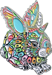 Rainbow Bunny Pin (Edition of 15)
