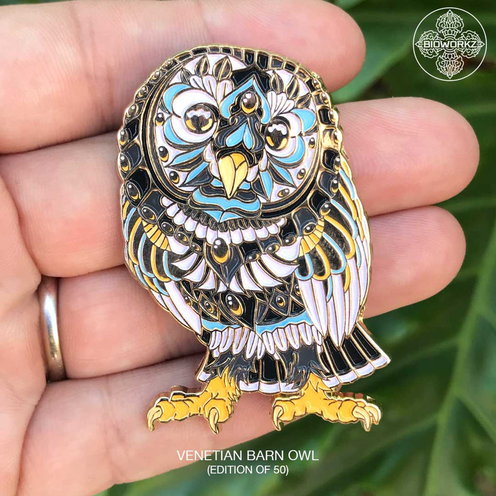 Venetian Barn Owl (Edition of 50)