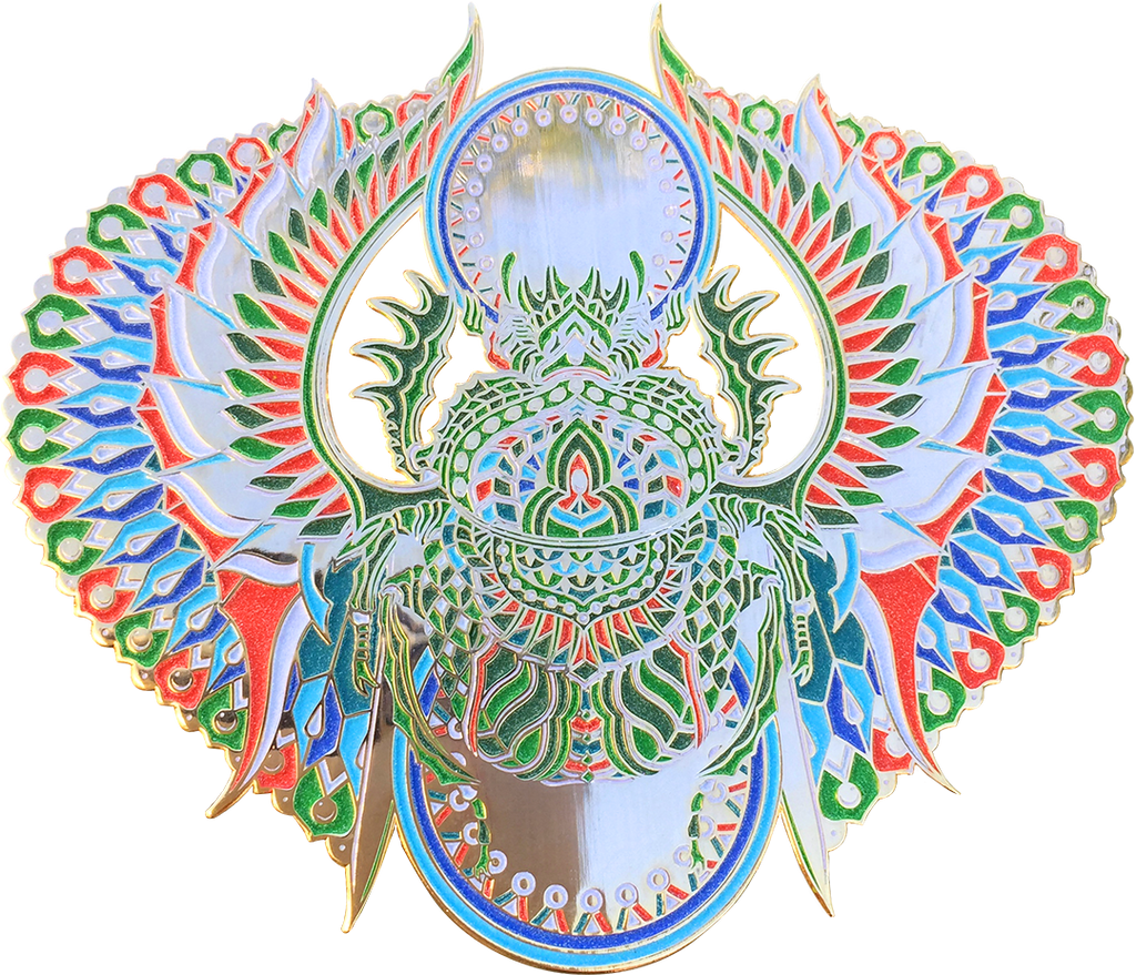 Afterlife Scarab Pin (Edition of 60)