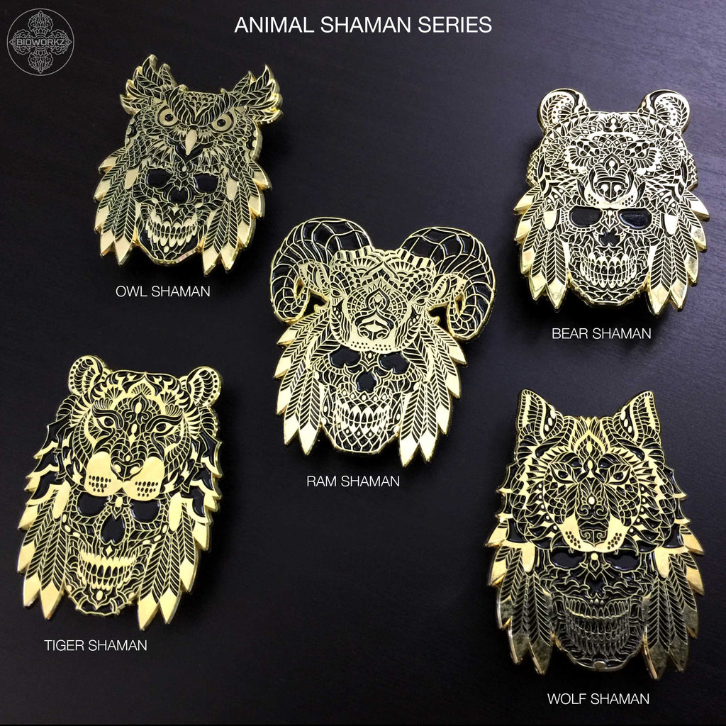 Animal Shaman Series Pin (Edition of 100)