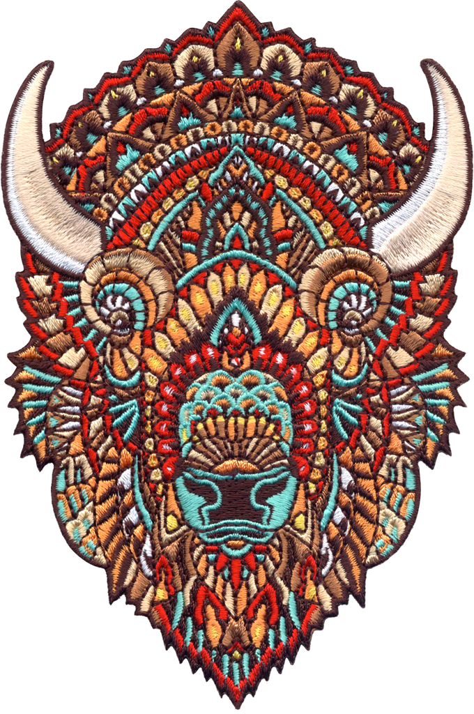 Bison (Embroidered Patch)
