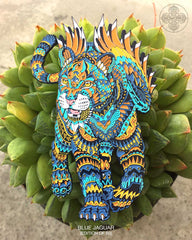 Blue Jaguar Pin (Edition of 50)