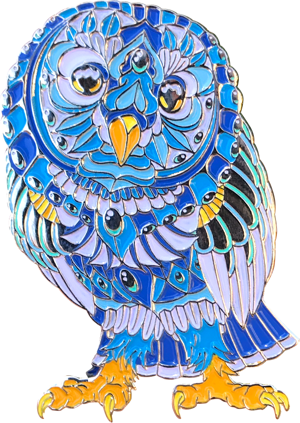 Crystal Barn Owl (Edition of 50)