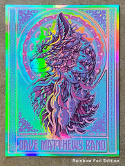 DMB Cat Rainbow Foil Artist Proof (Edition of 6)