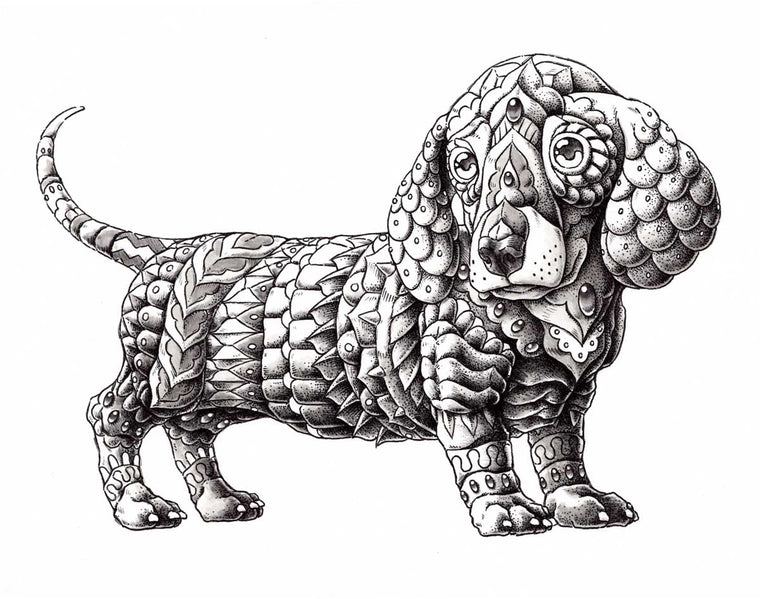 Dachshund (Original Artwork)