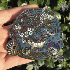 Deep Space Skull Pin (Edition of 80)