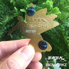 EMEK x BIOWORKZ Hummingbird Pin v.2 (Edition of 100)