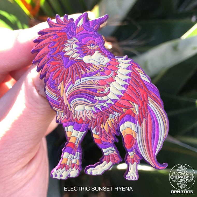 Electric Sunset Hyena (Edition of 40)