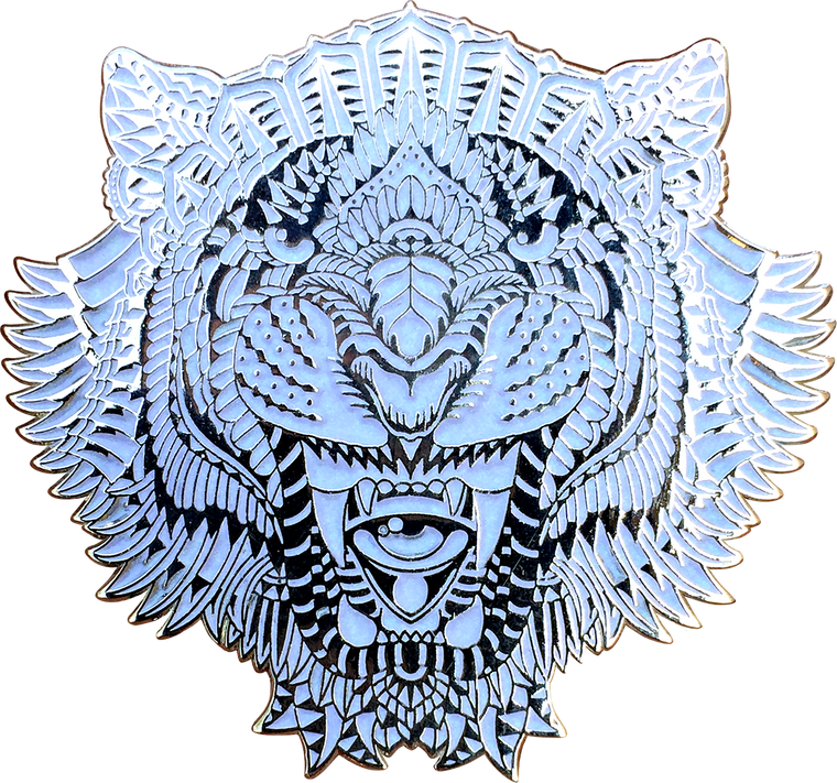 Winter Tiger Pin
